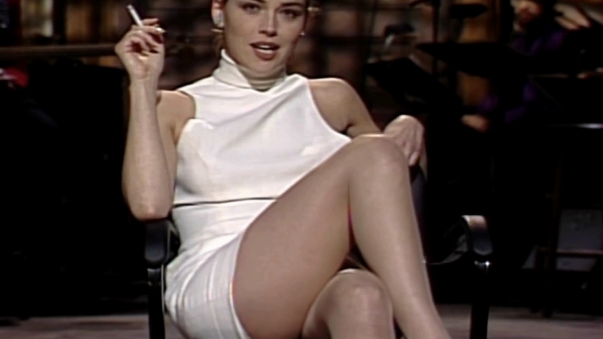 Sharon stone snl april 11 1992 9